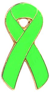 Awareness Ribbon Pin - Lime