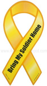 """Bring My Soldier Home Magnet Large 4""""x8"""""""
