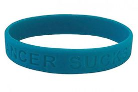 Cancer Sucks Bracelet - Teal