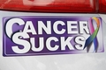 Cancer Sucks Window Sticker