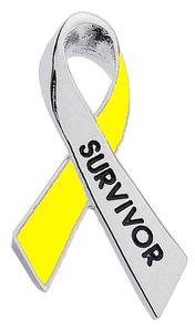 Childhood Cancer Survivor Pin