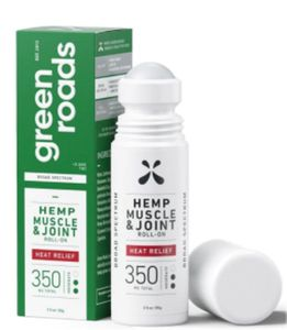 Green Roads Muscle Joint Heat Relief Roll-On 350mg