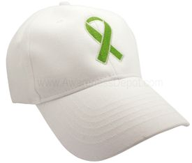 Green Liver Cancer Baseball Cap
