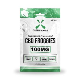 Green Roads Froggies - 100mg