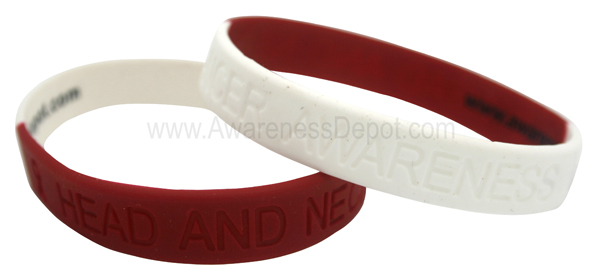 Head And Neck Cancer Awareness Bracelets