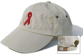 Heart Disease Ribbon Cap Khaki