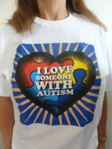 I Love Someone With Autism T-Shirt Adult and Child