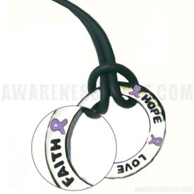 Inspire Ring Alzheimer's Necklace