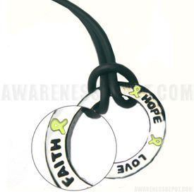 Inspire Ring Necklace (Lime)