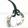 Leukemia Inspire Ring Necklace - Orange