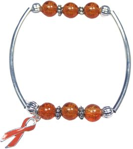 Leukemia Together Bracelet - Orange