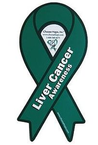 Liver Cancer Awareness Magnet