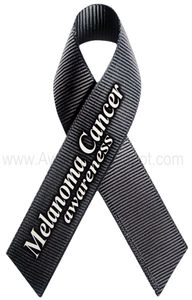 Melanoma Awareness Ribbon Magnet