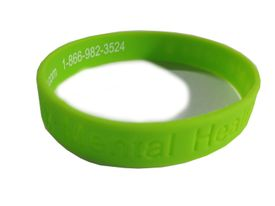Mental Health Awareness Silicone Bracelet