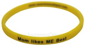 Message Band: Mom Likes ME Best