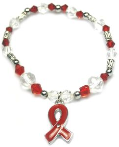 Multiple Myeloma Burgundy Awareness Stretch Bracelet