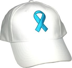 Ovarian Cancer Awareness Ribbon Hat