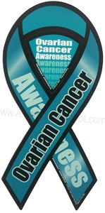 Ovarian Cancer Magnet 8""