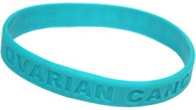 Ovarian Cancer Silicone Bracelet