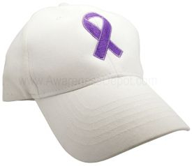 Pancreatic Cancer Awareness Ribbon hat
