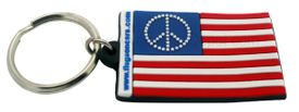 Peace Key Tag