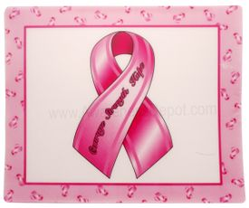 Pink Ribbon Mouse Pads