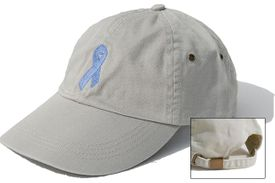 Prostate Cancer Ribbon Cap Khaki