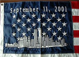 September 11 2001 Embroidered 3x5 Flag