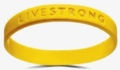 Yellow Live Strong Bracelet
