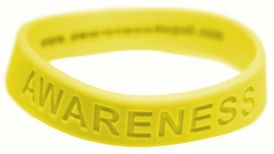 """Yellow or Green """"Awareness"""" Bracelets for Liver Cancer"""