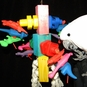 Nut and Bolt Factory Macaw Bird Toy
