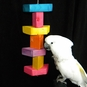 WoodStacker Cockatoo/Macaw Bird Toy