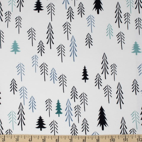 AGF Studio for Art Gallery, Capsules Pine Lullaby JERSEY KNIT, Loblolly Pine