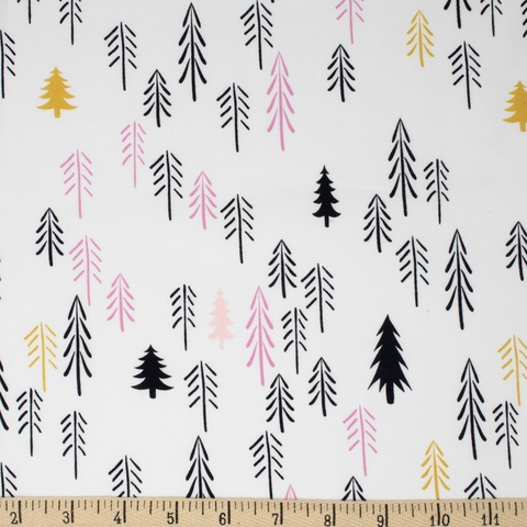 AGF Studio for Art Gallery, Capsules Pine Lullaby JERSEY KNIT, Loblolly Wood