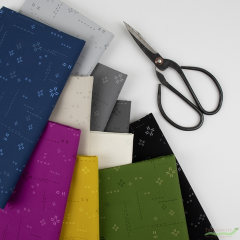 AGF Studio for Art Gallery, Decostitch Elements in FAT QUARTERS 10 Total