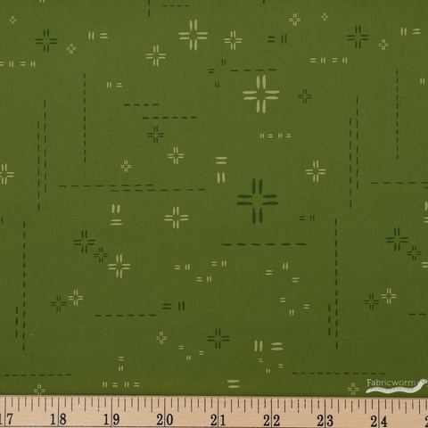 AGF Studio for Art Gallery, Decostitch Elements, Morning Moss Fat Quarter