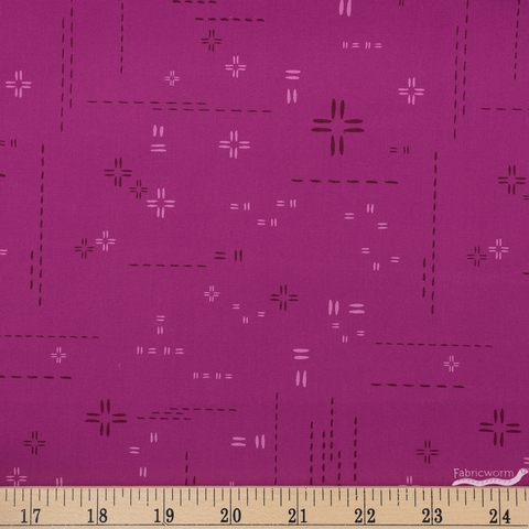 AGF Studio for Art Gallery, Decostitch Elements, Orchidberry Fat Quarter