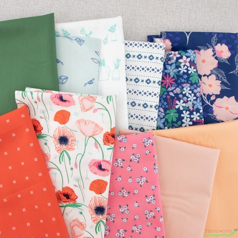 AGF Studio for Art Gallery Fabrics, Flowerette, Seed Packets