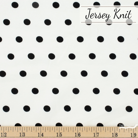 AGF Studio for Art Gallery, Knits Spotted Jersey Knit, Bubbles Caviar