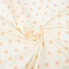 AGF Studio for Art Gallery, Knits Spotted Jersey Knit, Bubbles Creamsicle