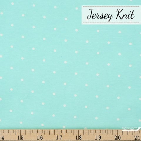 AGF Studio for Art Gallery, Knits Spotted Jersey Knit, Speckles Fresh