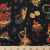 Alexander Henry, Tattoo Black Fat Quarter