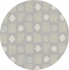 Alexia Marcelle Abegg for Cotton and Steel, Sienna, Stamps Stone