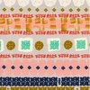 Alexia Marcelle Abegg for Cotton + Steel, Paper Bandana, Paper Cuts Earth