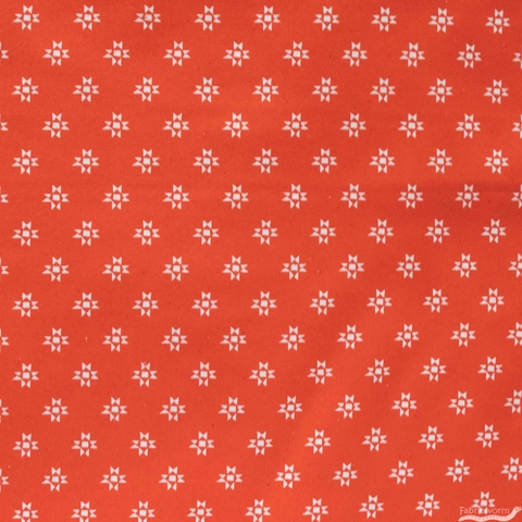 Alexia Marcelle Abegg for Ruby Star Society, Heirloom, Star Shine Warm Red