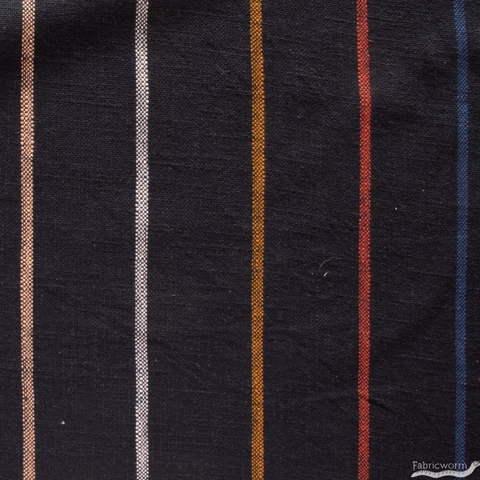 Alexia Marcelle Abegg for Ruby Star Society, Warp & Weft Heirloom, Chore Coat Stripe Navy