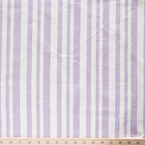 Alexia Marcelle Abegg for Ruby Star Society, Warp & Weft Heirloom, Woven Texture Stripe Lupine