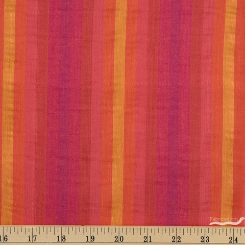 Alison Glass for Andover, Kaleidoscope Stripes & Plaids, Stripe Sunrise