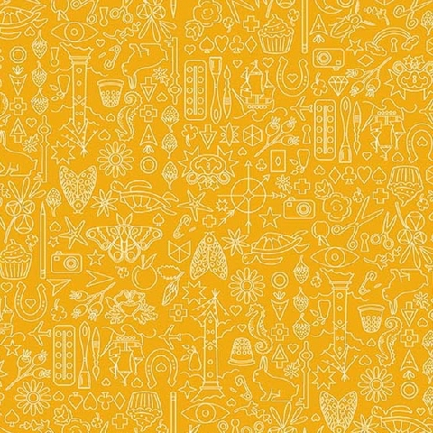 Alison Glass for Andover, Sun Print 2019, Collection Pencil