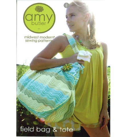 Amy Butler, Sewing Pattern, Field Bag & Tote